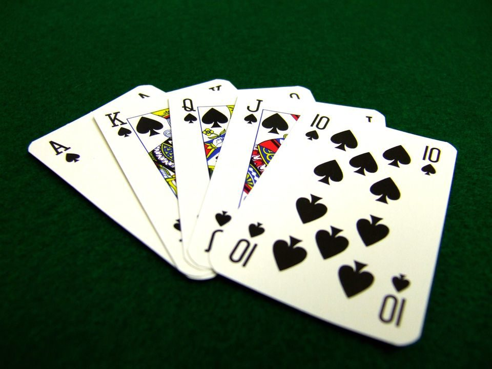 poker hands worst to best