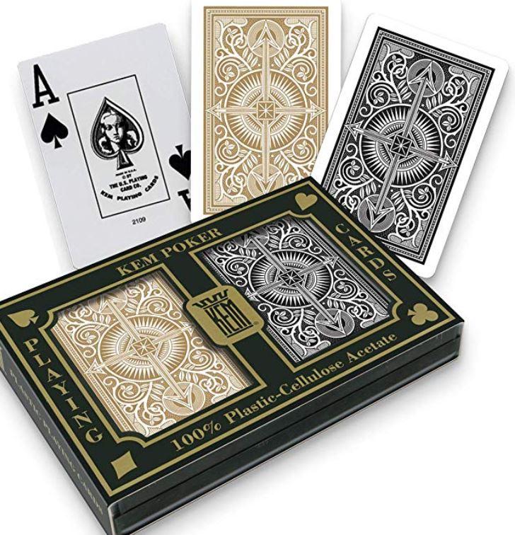 Deck of Playing Cards Texas Hold Em Feelin Lucky