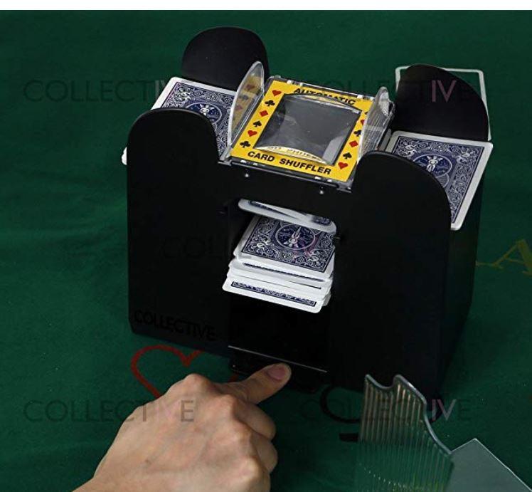 Blackjack Trademark Innovations Automatic Deck Card Shuffler For Poker Casino Equipment Sports Fitness