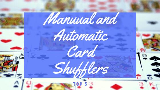 Automatic Card Shuffler 1-2 Deck Standard /& Bridge Sized Casino Poker Black Jack